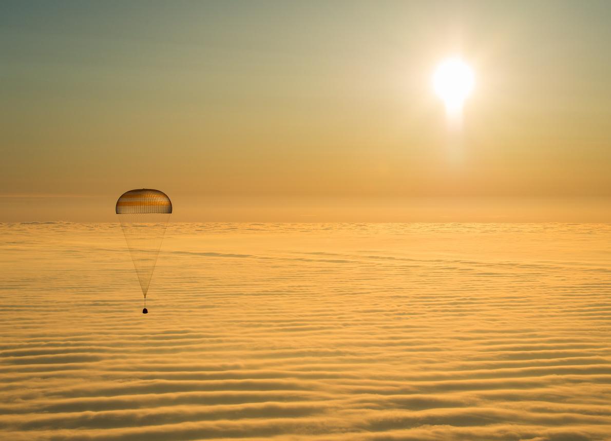 Descubre TU MUNDO: Espectacular imagen: astronautas regresan a la ...