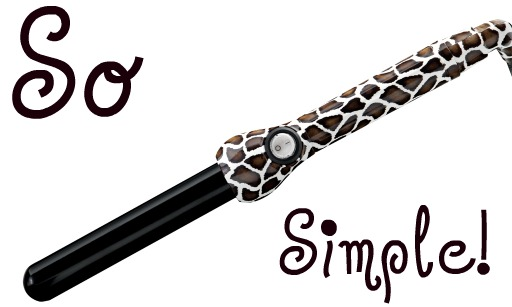 how to turn on babyliss pro curling wand