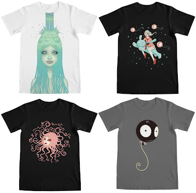 Tara McPherson T-Shirt Collection by Threadless
