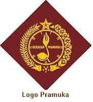Logo Pramuka warna Coklat