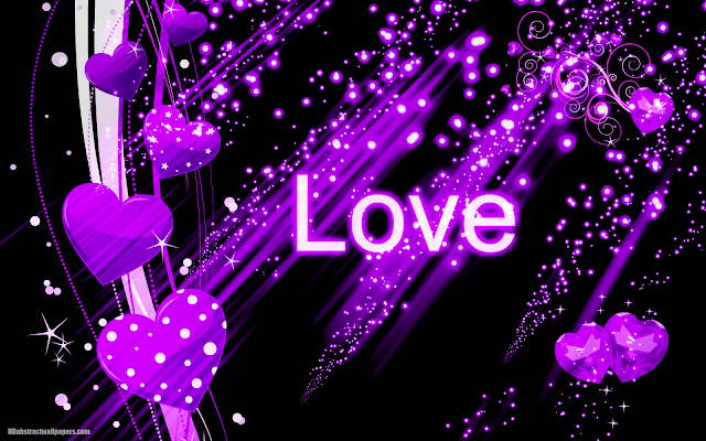 Black and purple abstract wallpaper