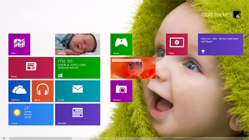 Baby Theme For Windows 7 And 8