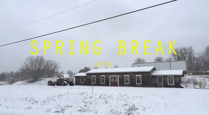 SPRING BREAK - Helene's VIMEO MOVIE 1:26