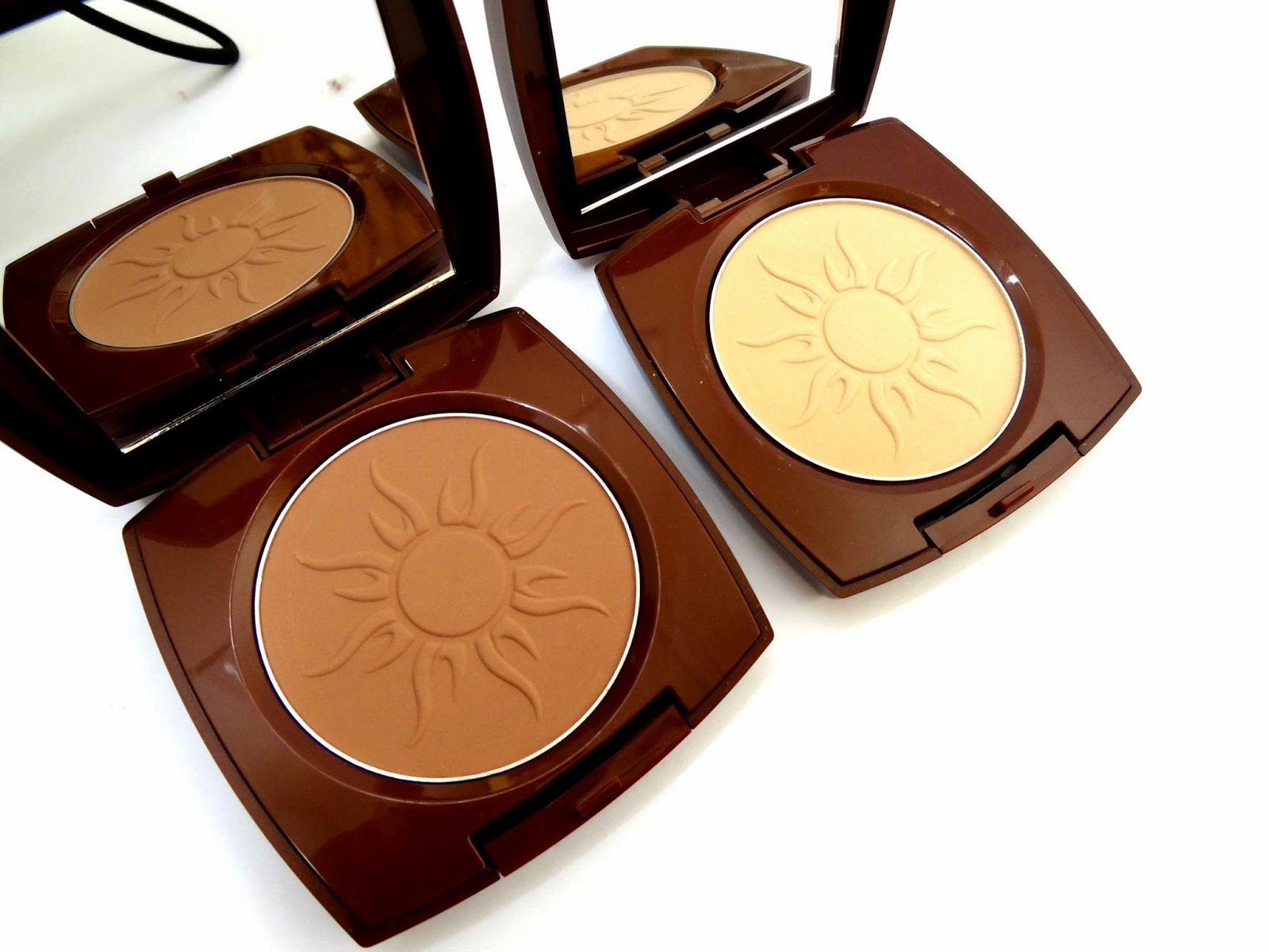 Avon Glow Sunkissed and LIght Bronze Powder