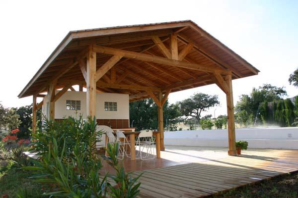 Cenadores de madera pergolas sevilla pergolas de madera for Cenadores de madera