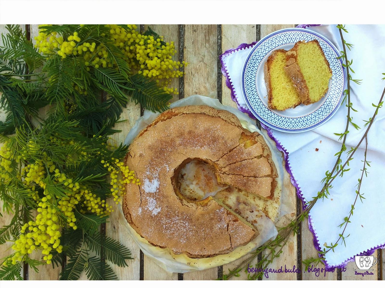 ricetta ciambellone classico al limone ricoperto con crosta di zucchero/ lemon donut cake with sugar crust recipe