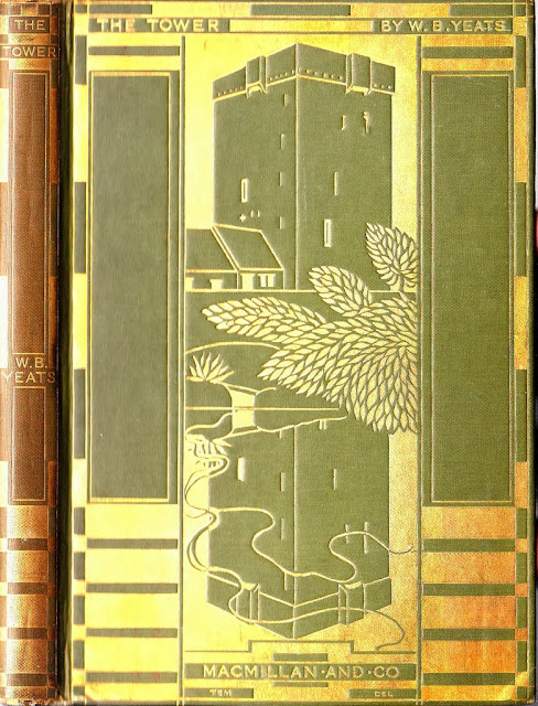 1928 The Tower by W. B. Yeats first edition cover