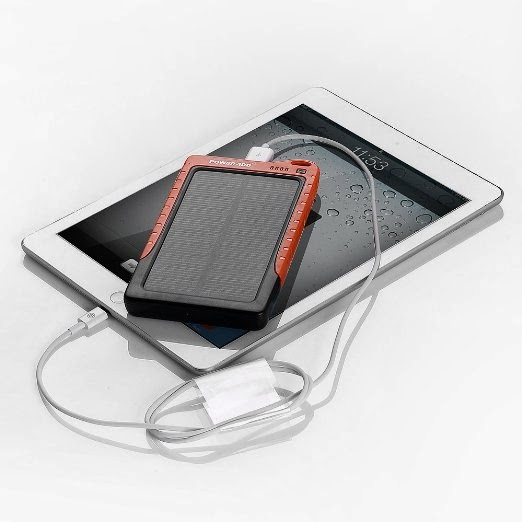 Poweradd™ Apollo 7200mAh Solar Panel Portable Charger