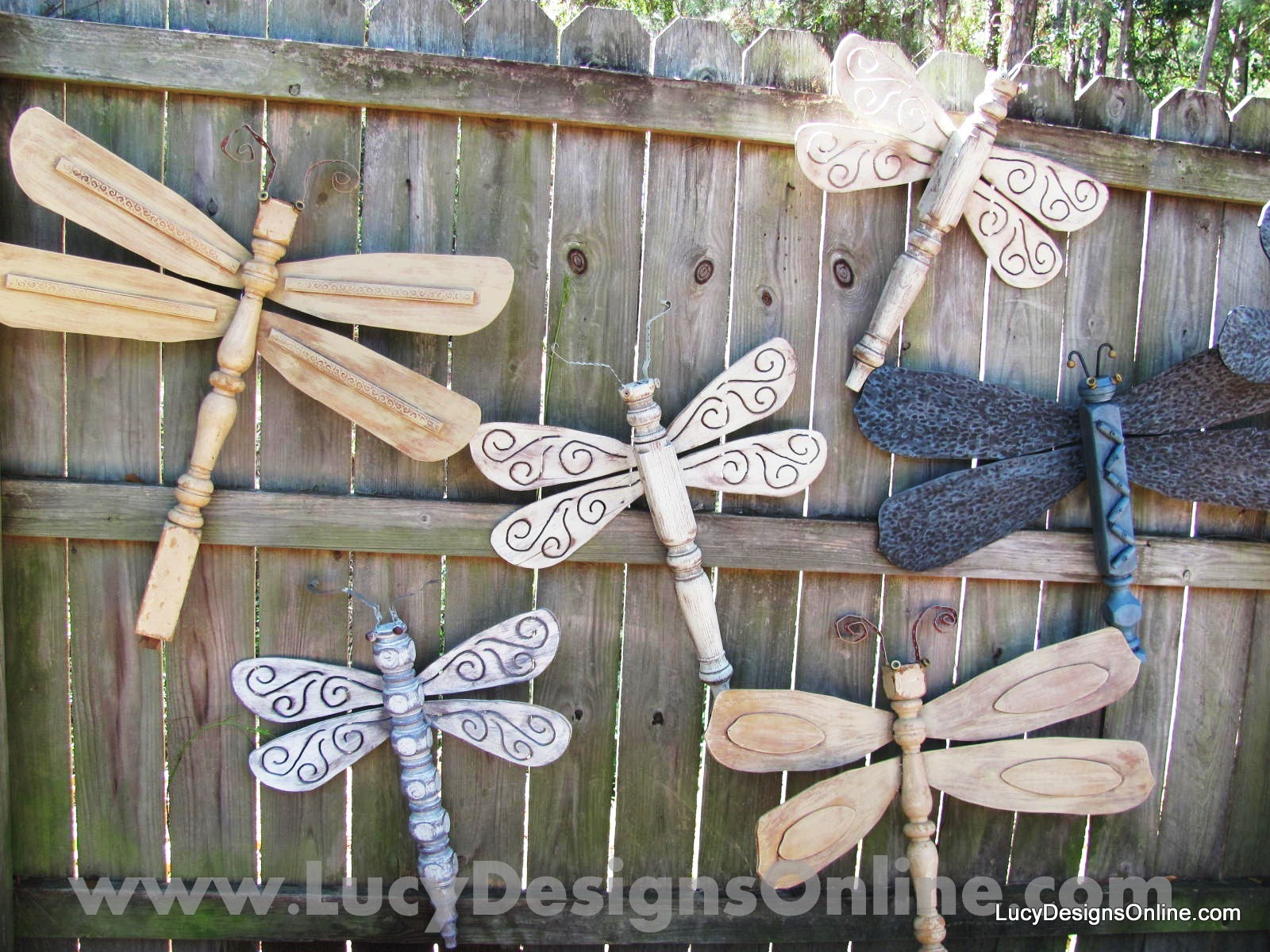 Table Leg Dragonfly Garden Art The Originals