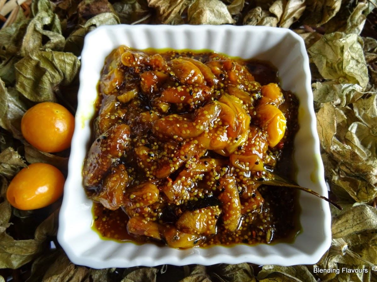 Fig & Cape Gooseberry Chutney
