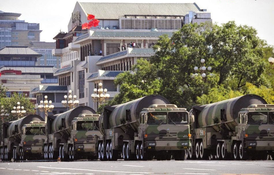 Chinese Dongfeng 31B Multi-Warhead Strategic Missiles