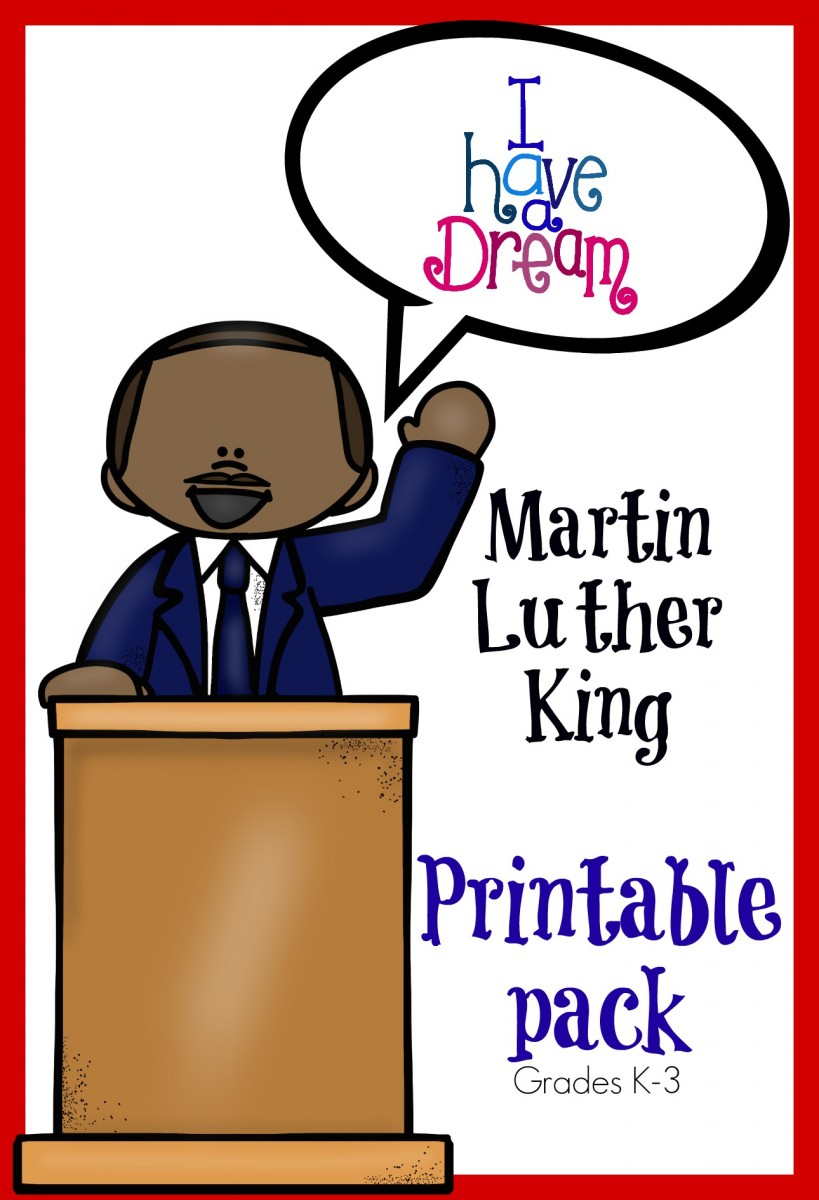 Martin Luther King Jr Coloring Pages Free Cute Printable Coloring