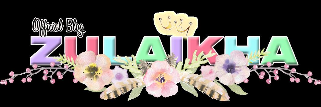 Blog Zulaikha