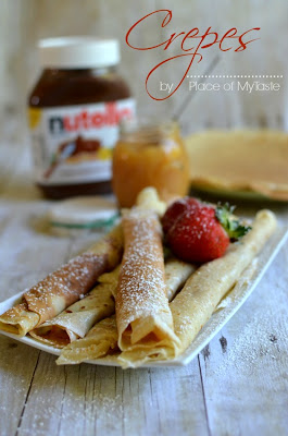 Thin, melt in your mouth crepes.♥