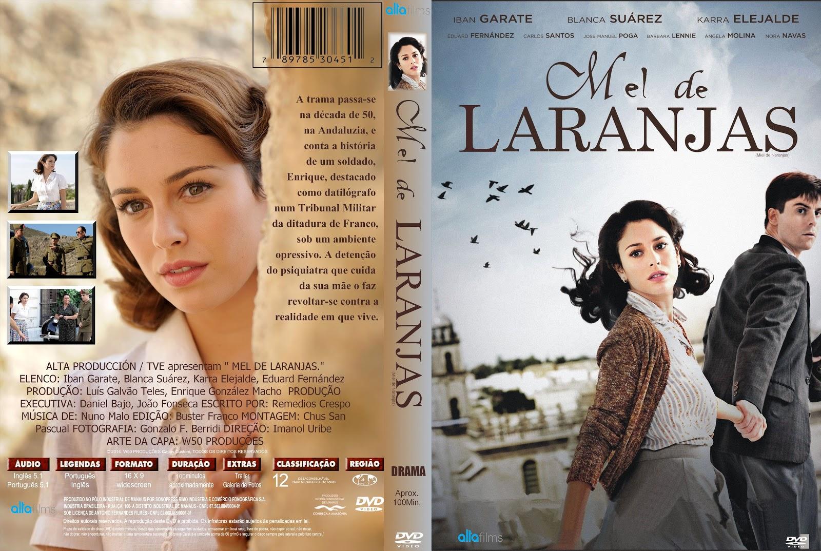 Capa DVD Mel De Laranjas