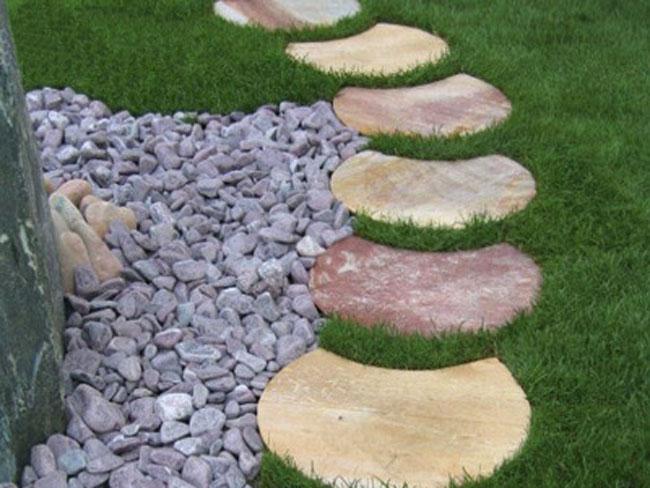 Crie Jardim: Id?ias para jardins - decora??o com pedras