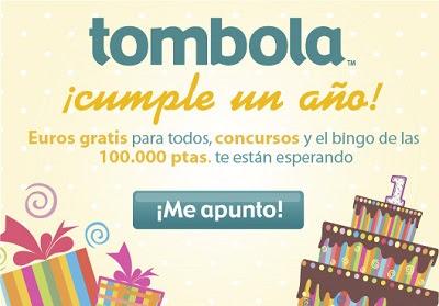 Primer aniversario de Tombola.es