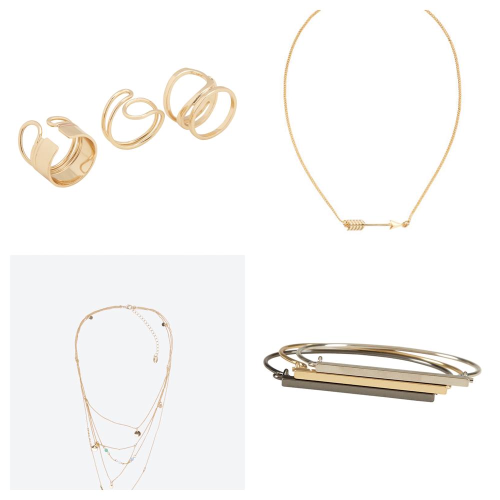 Les accessoires de l'automne bijoux