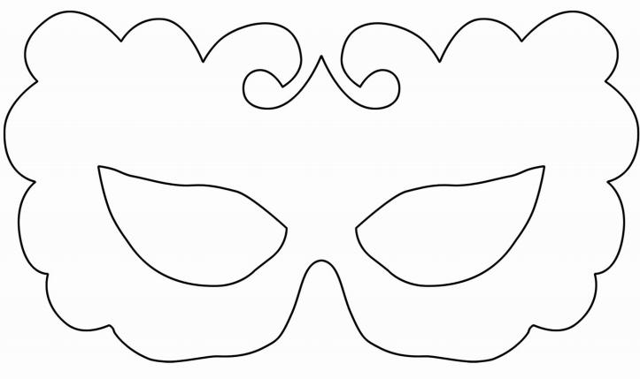 Moldes de mascaras de carnaval - Imagui