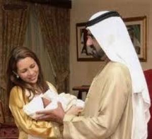 Un nouveau né chez le gouverneur de Dubai