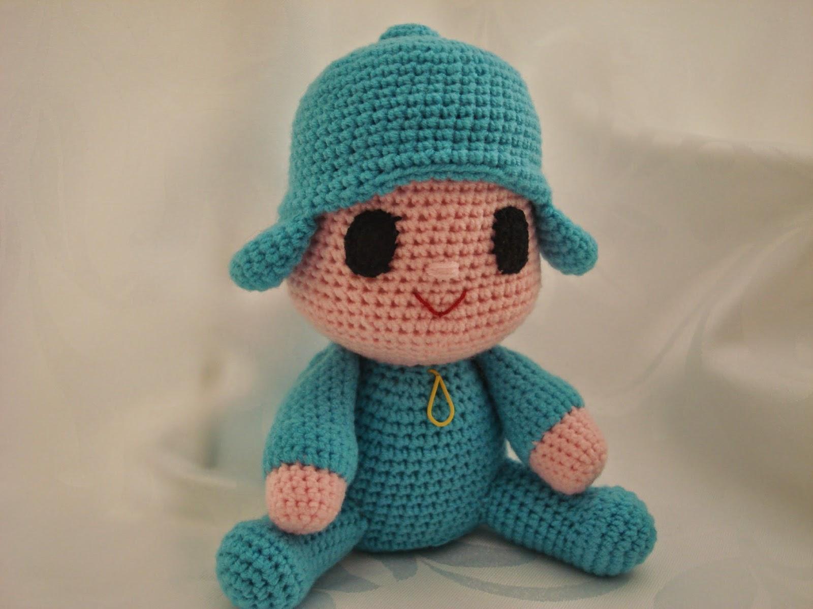 Pocoyo Amigurumi Nacións : Canal crochet: pocoyo amigurumi patrón libre