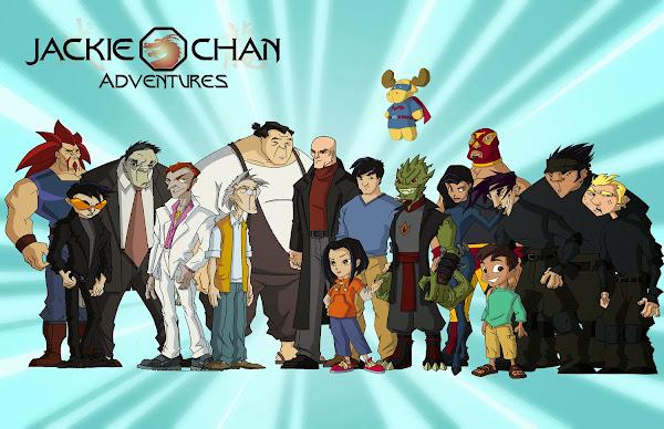 Las Aventuras de Jackie Chan Temporada 01 (Los Doce Talismanes)