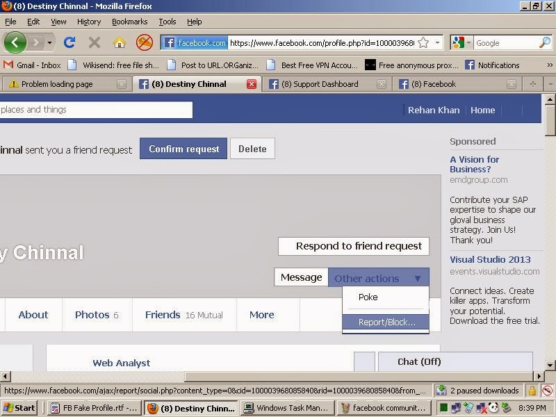 how to know if someone checked your facebook profile