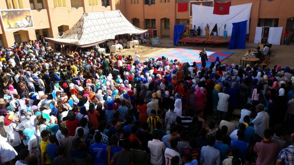 زاكورة: اختتام مهرجان المسرح الربيعي الإقليمي الثاني بتازارين