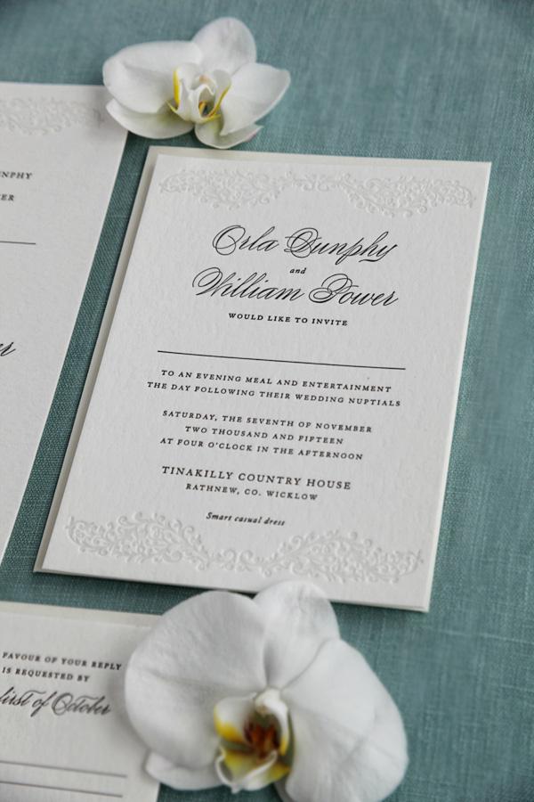 Sweetly Said Press   Ireland Wedding Invitations