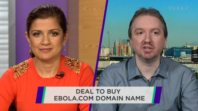 Controversial Ebola.com Domain Sold for 200 Thousand Dollars