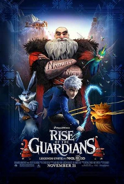 rise of the guardians, 3d animation