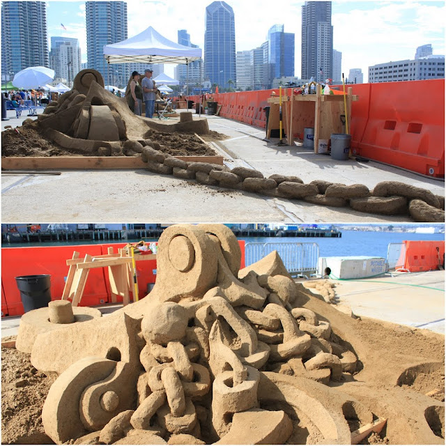 Kirk Rademaker's creation at Sand Sculpting Challenge 2012 in San Diego, California, USA