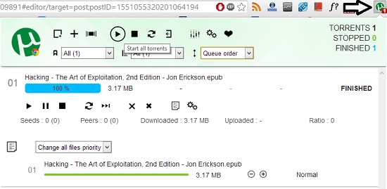 utorrent browser chrome extension