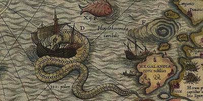 Monster Laut Abad Pertengahan Akhirnya Terkuak di Peta Kuno