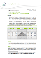 Tessenderlo, Q3, 2015, report, front page