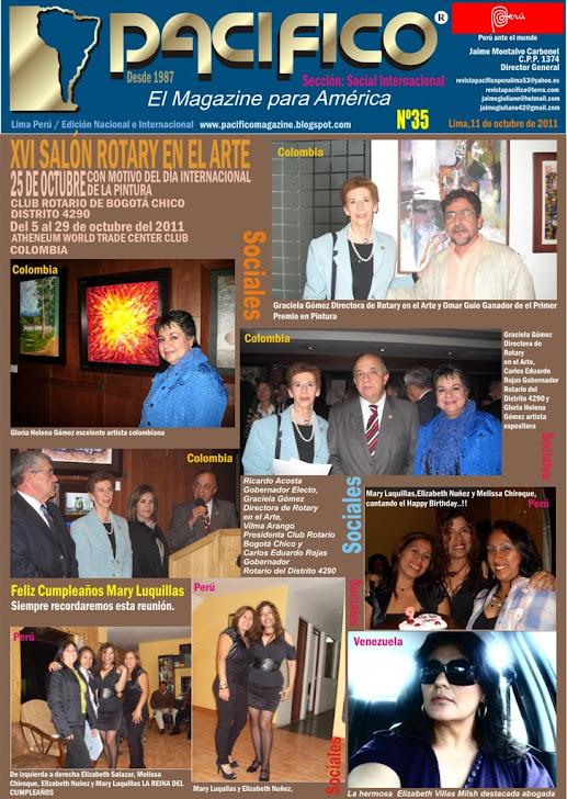 Revista Pacífico Nº 35 Social Internacional