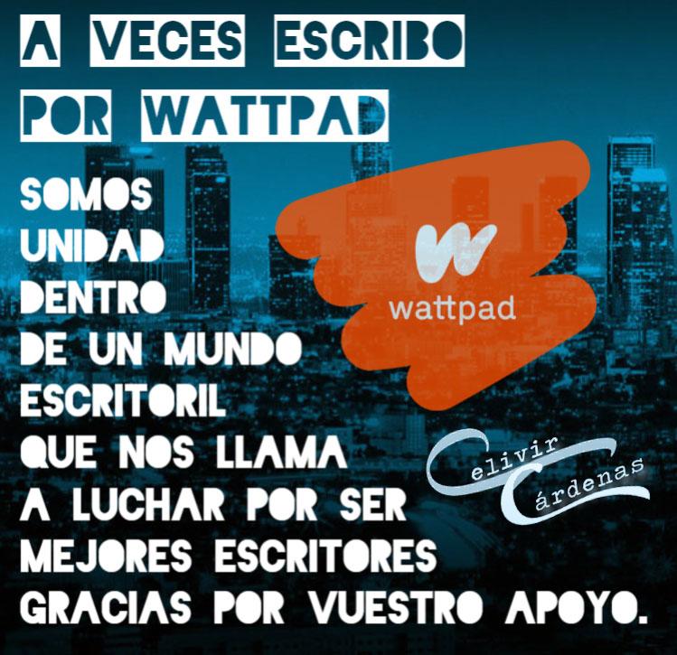 Escribo en Wattpad