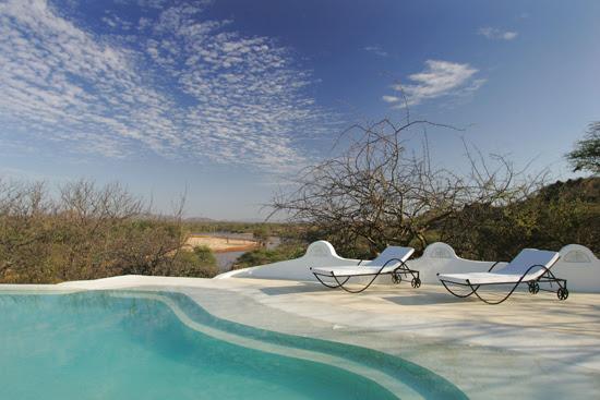 Safari Fusion blog | Take a dip | Cooling off above the banks of the mighty Ewaso Nyiro River, Samburu land Kenya