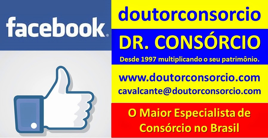 Doutor Consórcio no Facebook