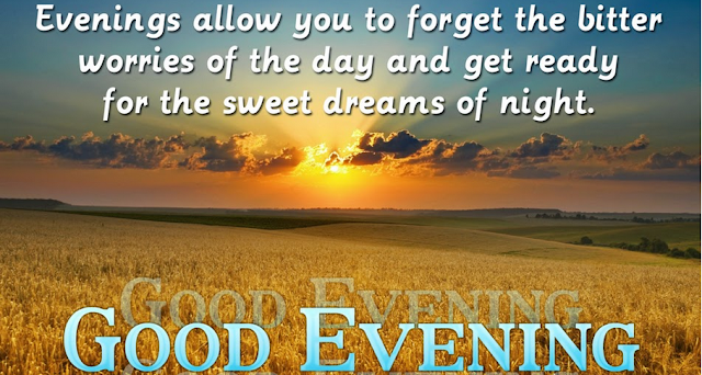 Good evening sweet dreams