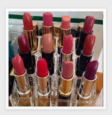#ninas style blog #Lancome #lipstick #elizabetharden #Estee Lauder #beautyblogger #post