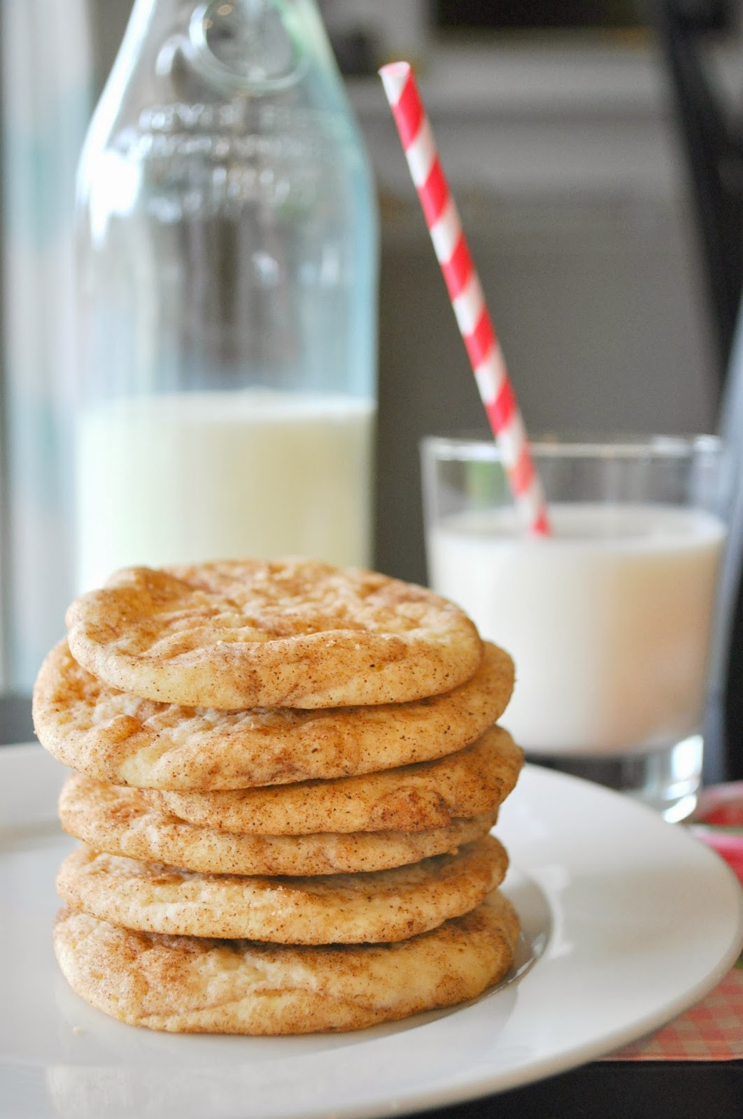 Suburbs Mama: Soft Snickerdoodle Cookies