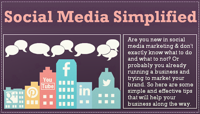 image: Social Media Simplified [infographic]