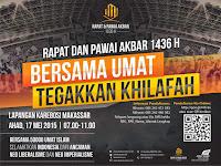 Peringati Momentum Rajab, HTI Gelar Pawai Akbar di 34 Kota