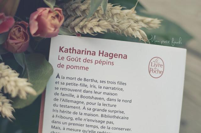 """Photo Livre """"Le goût des pépins de pommes"""" de Katharina Hagena"""