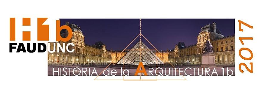 Historia de la arquitectura 1 B
