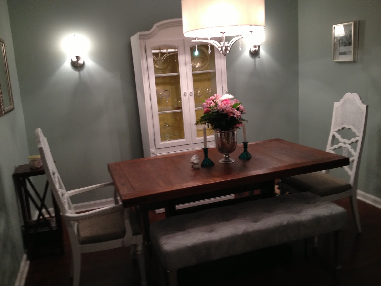 Before  After My Dining Room Makeover  Crackerjack - Martha stewart dining room table