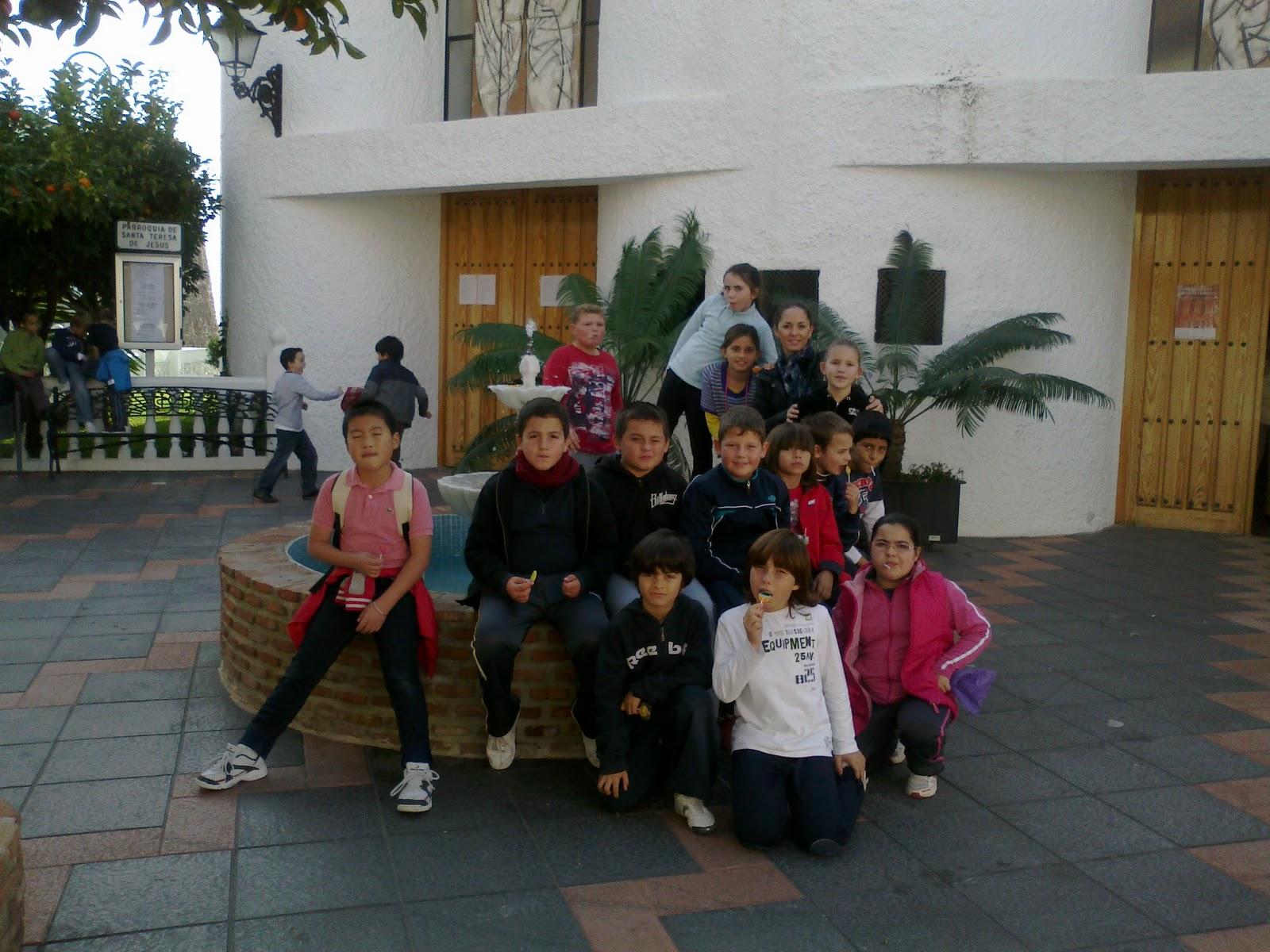 4 a en el ceip jard n bot nico la navidad en nuestra clase for Ceip jardin botanico