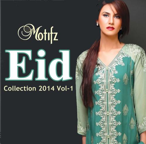Motifz Eid Collection 2014 Vol-1