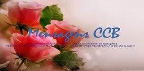 MENSAGENS CCB